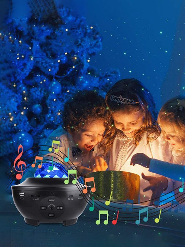 LED Romantic Colorful Starry Sky Galaxy Projector Night Light USB Remote Control Fairy Neon Projection Lamp Decoration