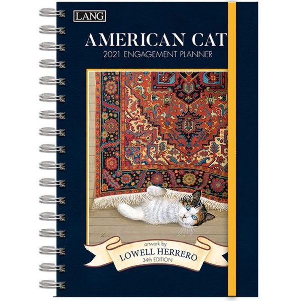 American Cat Spiral Engagement Planner by Lowell Herrero
