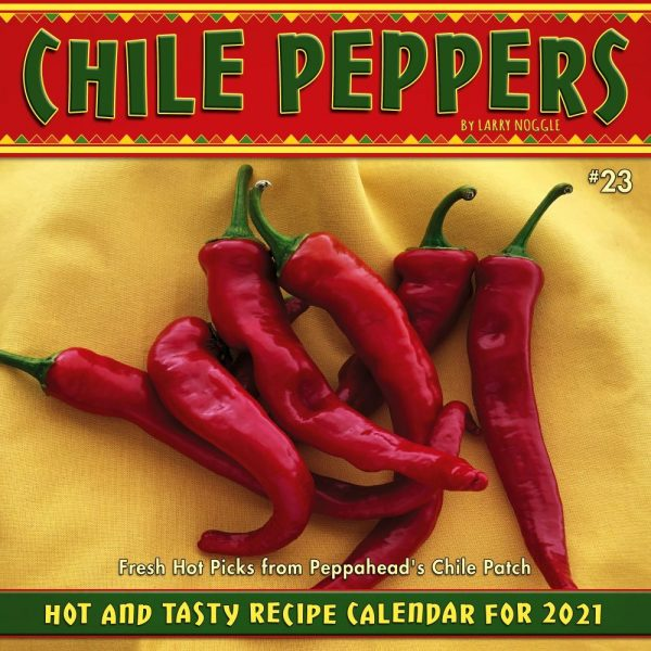 Chile Peppers Wall Calendar