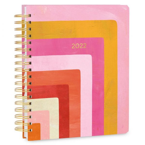 Geomtric Deluxe Hard Cover High Note 2022 Planner