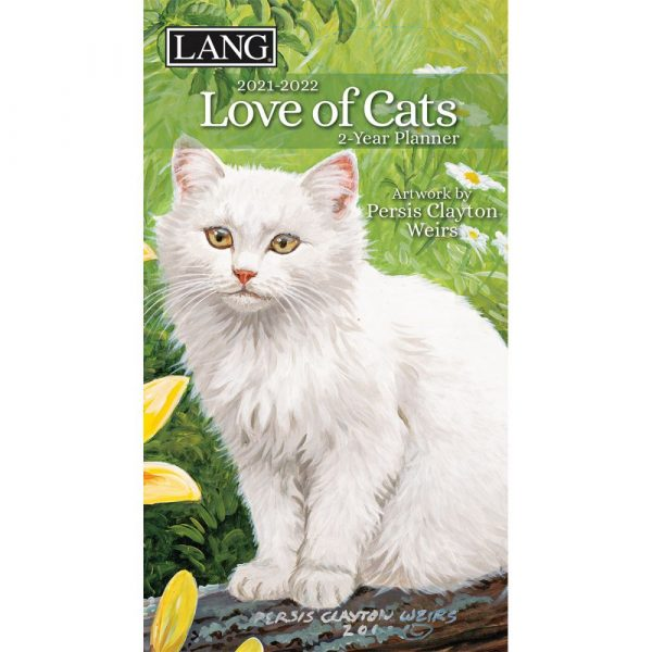 Love of Cats 2-Year Planner by Persis Clayton Weirs