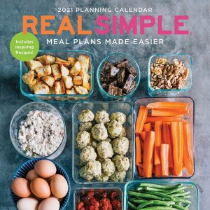Real Simple Meal Plans Made Easier Wall Calendar