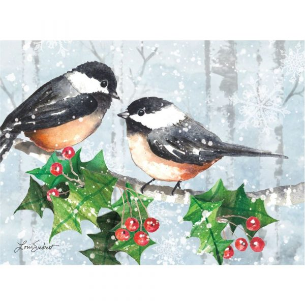 Serene Forest Classic Christmas Cards by Lori Siebert