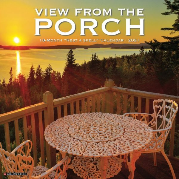 View From the Porch Wall Calendar