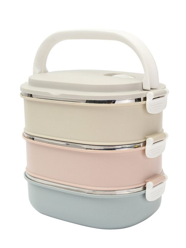 3 Tier Stainless Steel Insulated Bento Lunch Box