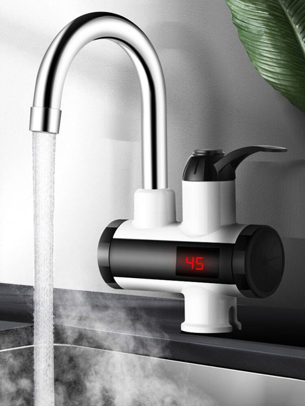 3000W Electric Kitchen Water Heater Tap Instant Hot Water Faucet Heater Cold Heating Faucet Tankless Instant