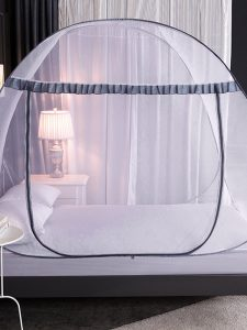 Mosquito Net Installation-Free Household Pops-up Mesh Tent Folding Pattern Account Adult Anti-Fall Encryption Mosquito N
