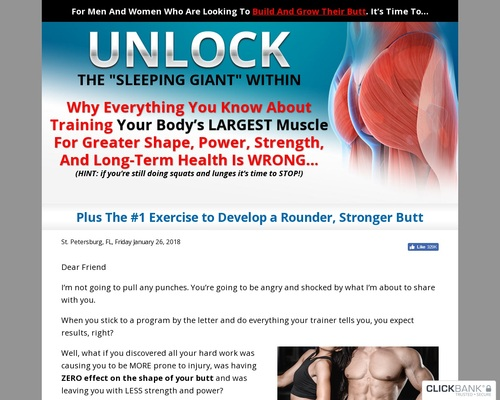 Unlock Your Glutes - Conversion Monster!
